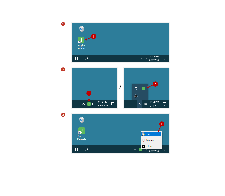 Portable Dev Apps | Jupyter Lab Portable